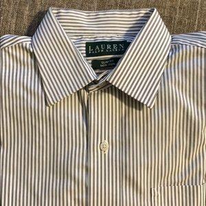 Ralph Lauren dress shirt Men's 16-34/35 Slim Fit